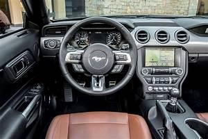 Ford Mustang Convertible Interior, Sat Nav, Dashboard | What Car?