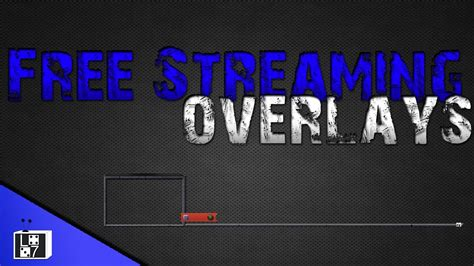 LiveStreaming Free overlays with download - YouTube