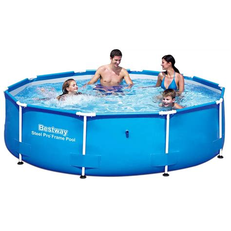 bestway steel pro  swimming pool    cm steel