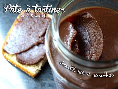 recette de pate a tartiner maison j ai clon 233 la p 226 te 224 tartiner chocolat noir noisettes du u 171 cookismo recettes saines