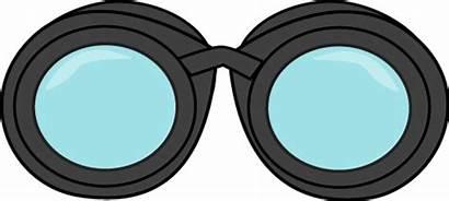 Binoculars Clipart Clip Binocular Detective Graphics Lenses