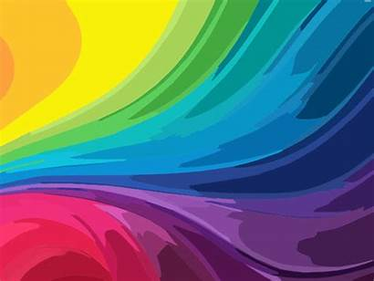 Rainbow Abstract Background Clip Clipart Cliparts Colours