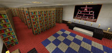 minecraft library room minecraft creations minecraft