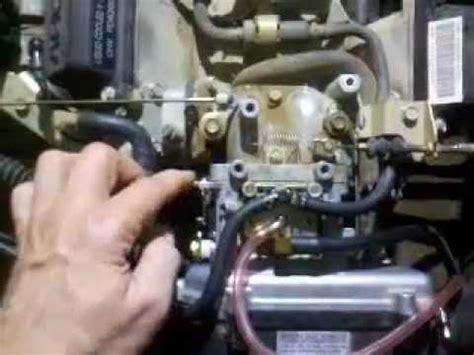 kawasaki mule  carburetor problem  ideas
