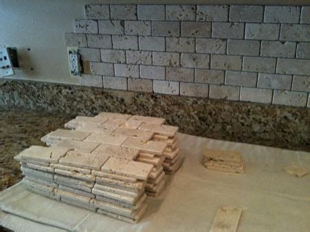 counter height kitchen island table stacked tile backsplash doodad 2 oct 17 11 41 00