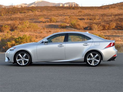 sporty lexus sedan 2014 lexus is 350 luxury sport sedan road test and review