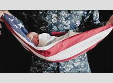 Baby Wrapped in American Flag Photo Stirs Up Controversy