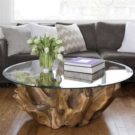 natura  root coffee table mikaza meubles modernes