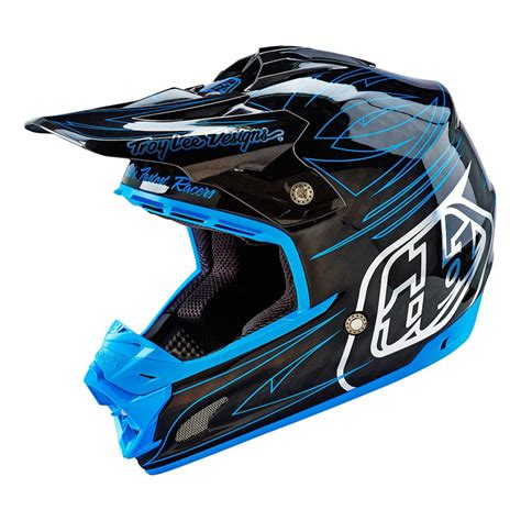 motocross helmet troy lee designs se3 helmet product spotlight