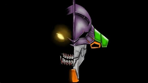 Neon Genesis Evangelion, Eva Unit 01, Anime, Simple