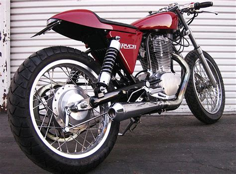 Custom Cafe Racer Motorcycle Kits For Suzuki S40 (aka The