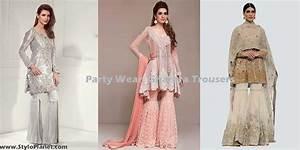 Stylish Party Wear Gharara/Sharara Trousers Stylo Planet