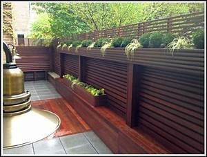 Balkon Sichtschutz Bambus Pflanzen Balkon House Und