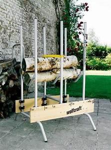 Chevalet Coupe Bois : entrenir son jardin en hiver et stocker son bois c t maison ~ Premium-room.com Idées de Décoration