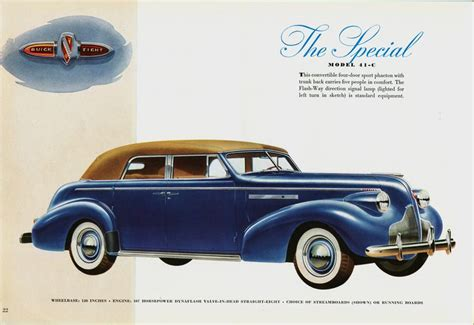 1939 Buick Special Model 41-c Sport Phaeton