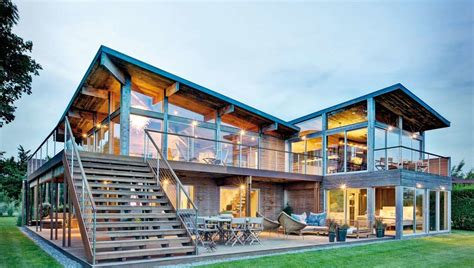 maison bois architecte finest maisons durables une maison bois de mais with maison bois