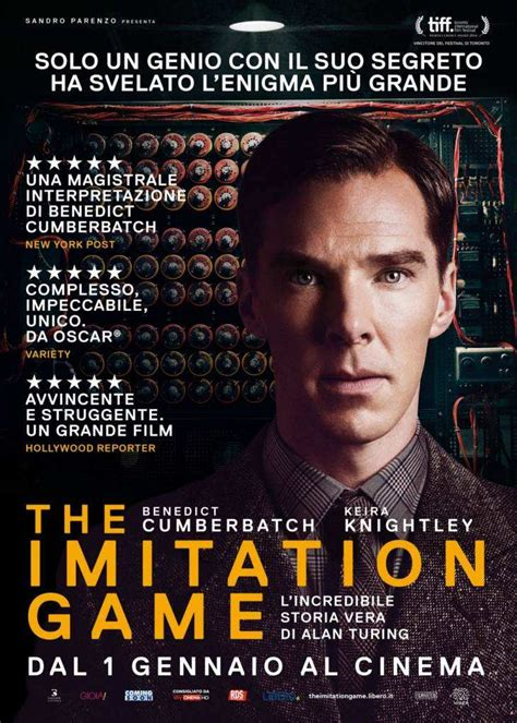 frasi del film  imitation game trama del film