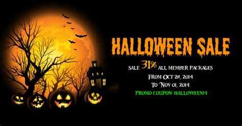 halloween sale banner festival collections