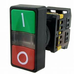 E Amico Ac 220v Yellow Light On Off Start Stop Momentary