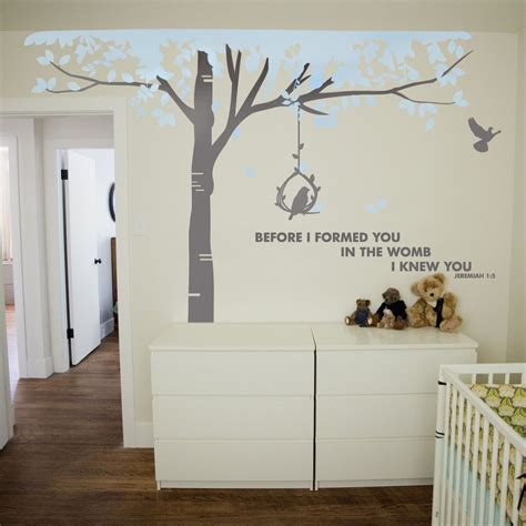 sticker chambre bebe garcon tree wall sticker by vinyl impression in the uk this
