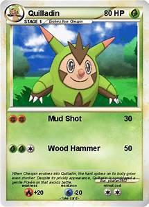 Pokémon Quilladin - Mud Shot - My Pokemon Card