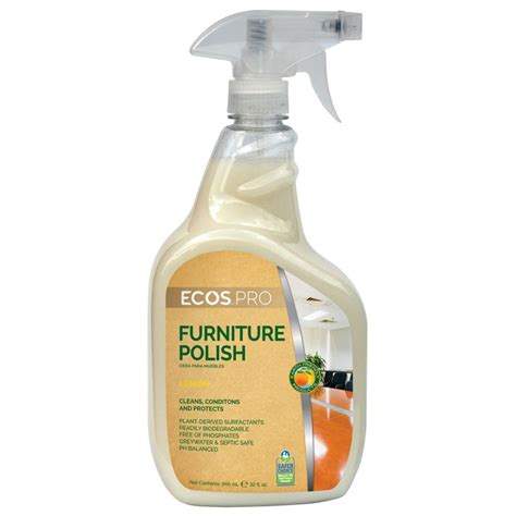earth friendly products ecos pro furniture polish