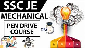 SSC JE Mechanical - Pendrive Course Launched - YouTube