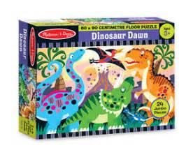 and doug dinosaur floor puzzle 4425 24 pieces new ebay