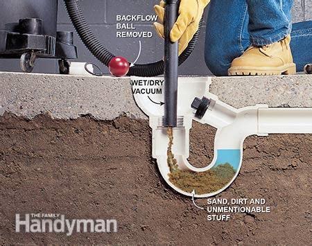 unclog  drain  family handyman epoxy basement