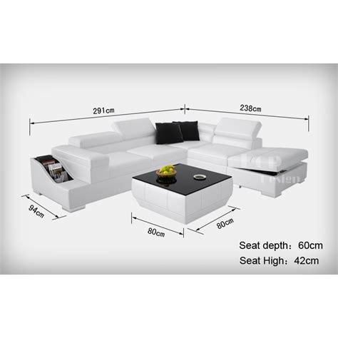 dimension canapé d angle grand canapé d 39 angle en cuir jazzy grands canapés d