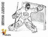 Hockey Coloring Pages Player Sheets Players Yescoloring Boys Nhl Ice Sports Printouts Game Trick Hat Printout sketch template