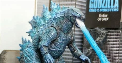 Neca Godzilla 2019 Atomic Blast Version