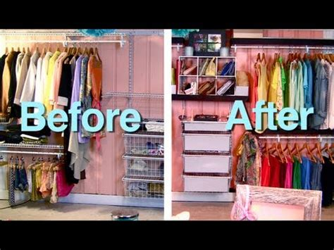 makeover wire closet container store inspired budget