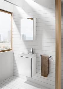 Meuble Salle De Bain Roca : lavabo lave mains sur meuble mini de roca salle de bains ~ Dallasstarsshop.com Idées de Décoration