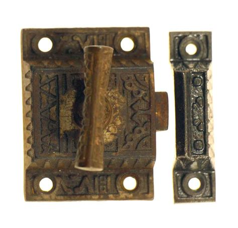 Antique Cupboard Latches by Vintage Cabinet Or Door Latch Antique Copper Loaded