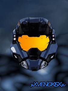 halo reach carter helmet by xXVENOXISXx on DeviantArt