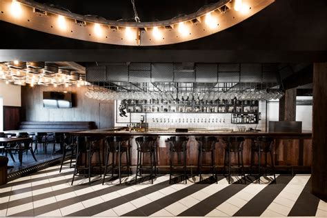 Modern Bar by Will Swoon This Industrial Bar In Montr 233 Al