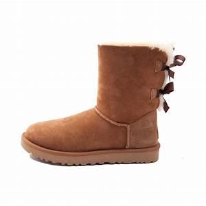 Womens UGG® Bailey Bow II Boot - brown - 581627