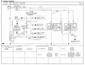 1991 Mazda B2600i Wiring Diagram Starting  Charging  Starter  Alternator  Battery