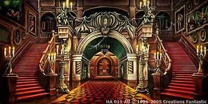 Haunted Mansion Interior   Backdrops Fantastic Australia
