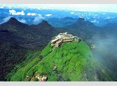 Sri Pada Adams Peak – main sight on the map Sri Lanka