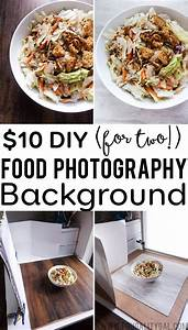 $10 DIY Food Photography Background