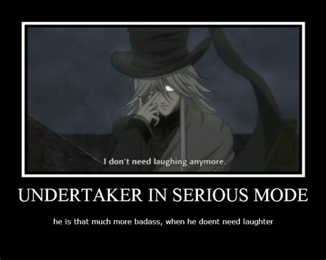 Undertaker Meme - black butler undertaker funny the undertaker is badass by arorea black butler pinterest
