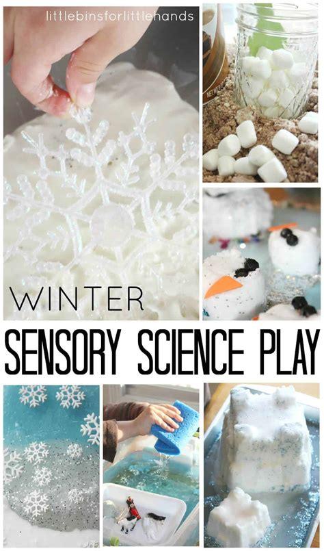 kids winter activities  science  sensory play