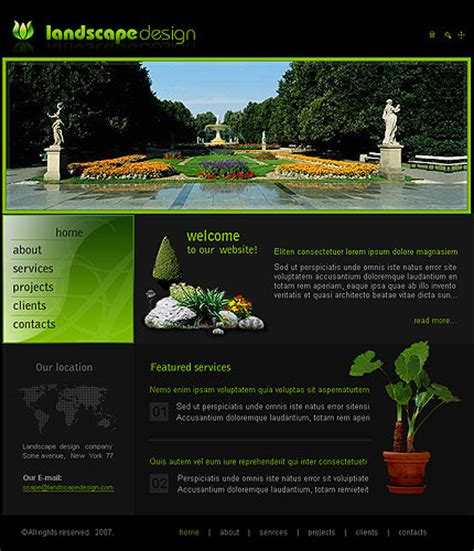 best landscape design websites wycepypa the greatest wordpress com site in all the land page 2