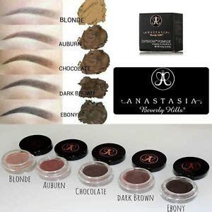 This is a worthy and super cheap alternative to anastasia's beverly hills dipbrows! Anastasia Beverly Hills DIPBROW Pomade 11 Colours UK ...