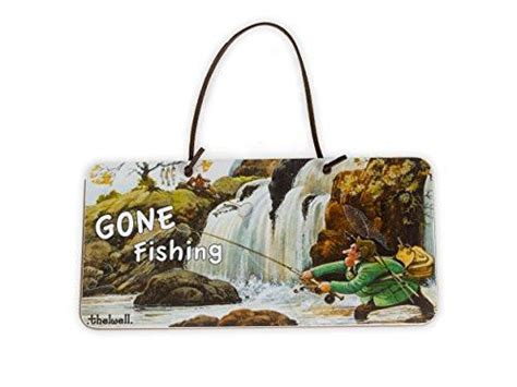fishing door sign thelwell gifts people fly fish