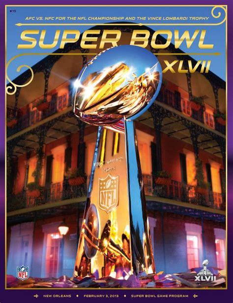Official Super Bowl Xlvii 47 Commemorative Program
