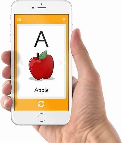 Flashcard Clipart Apple Flashcards App Number Transparent