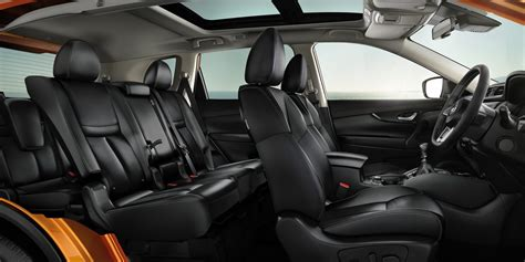 interior design x trail x trail design features a 4x4 suv 5 or 7 seater car